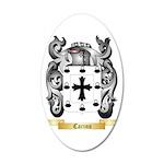 Carino 35x21 Oval Wall Decal