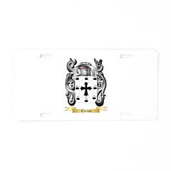 Carino Aluminum License Plate
