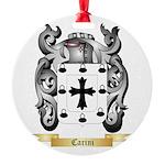 Carini Round Ornament