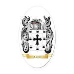 Carini Oval Car Magnet