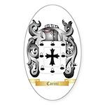 Carini Sticker (Oval 10 pk)