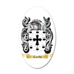 Carillo 20x12 Oval Wall Decal