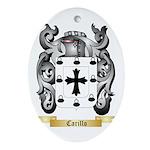 Carillo Ornament (Oval)