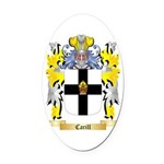 Carill Oval Car Magnet