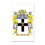 Carill Rectangle Car Magnet