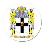 Carill Round Car Magnet