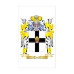 Carill Sticker (Rectangle 50 pk)