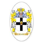 Carill Sticker (Oval 50 pk)