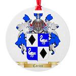 Carico Round Ornament