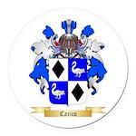 Carico Round Car Magnet
