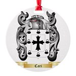 Cari Round Ornament