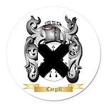 Cargill Round Car Magnet