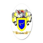 Carfts Oval Car Magnet