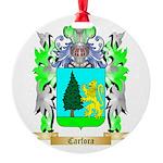 Carfora Round Ornament