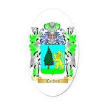 Carfora Oval Car Magnet