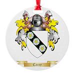 Carey Round Ornament