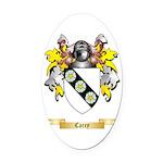 Carey Oval Car Magnet