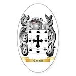 Caretti Sticker (Oval 10 pk)