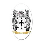 Caretti 20x12 Oval Wall Decal