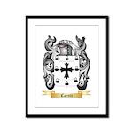Caretti Framed Panel Print