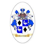 Carellow Sticker (Oval 50 pk)