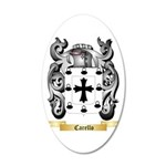 Carello 20x12 Oval Wall Decal