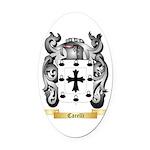 Carelli Oval Car Magnet