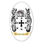 Carelli Sticker (Oval)