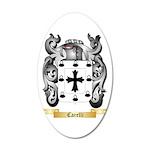 Carelli 20x12 Oval Wall Decal