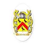 Cardy Oval Car Magnet