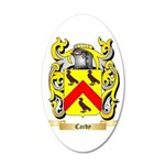 Cardy 20x12 Oval Wall Decal