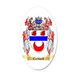 Cardwell Oval Car Magnet