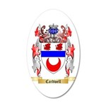 Cardwell 20x12 Oval Wall Decal