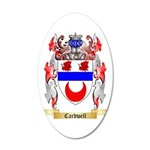 Cardwell 35x21 Oval Wall Decal