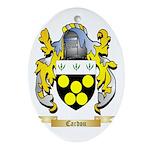 Cardou Ornament (Oval)