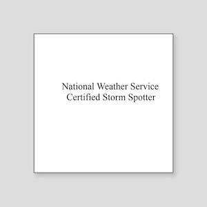 Storm Spotter Sticker