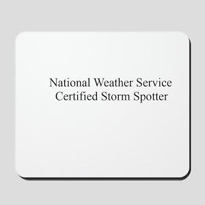 Storm Spotter Mousepad