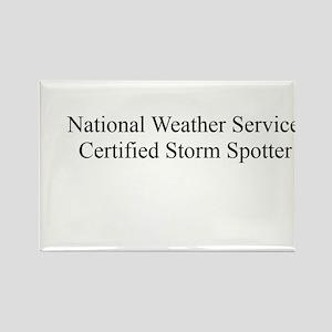 Storm Spotter Rectangle Magnet