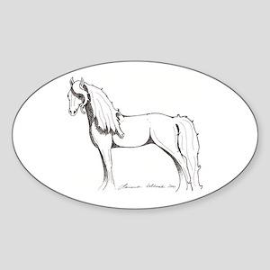 Unihevonen - Dream Horse Oval Sticker