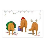 Toller Christmas Postcards (Package of 8)