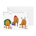 Toller Christmas Greeting Cards (Pk of 10)