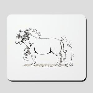 Kukkaponi - Flower Pony Mousepad