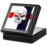 Red Eye Skull Forever Keepsake Box