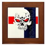 Red Eye Skull Forever Framed Tile