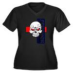 Red Eye Skull Forever Plus Size T-Shirt