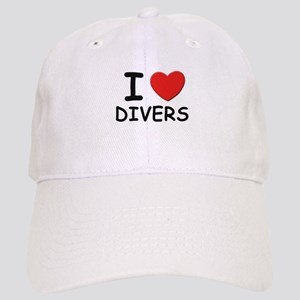 I love divers Cap