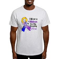Ribbon Hero Bladder Cancer Light T-Shirt