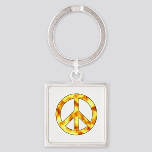 Explosive Peace Sign Keychains