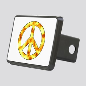 Explosive Peace Sign Hitch Cover