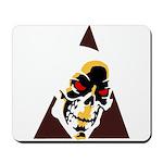 Skull Triangle Mousepad